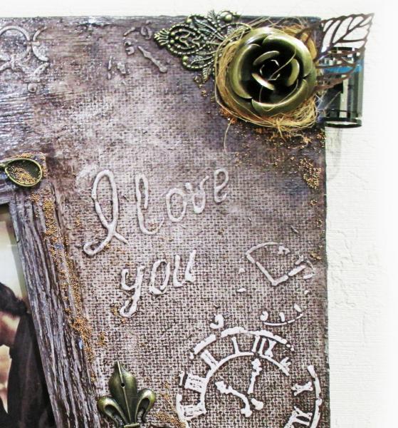 Фото Фоторамки Стильная фоторамка ручной работы Подарок женщине девушке на день рождения