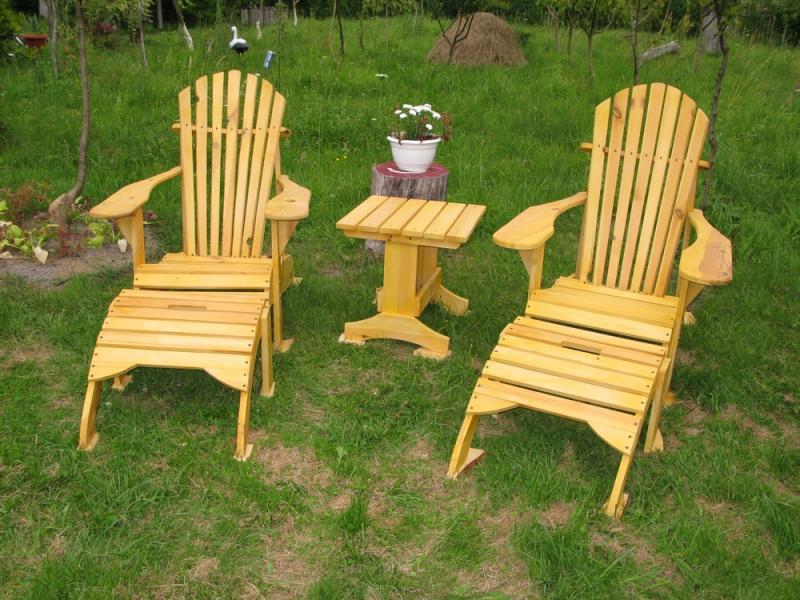 Кресла для отдыха Адирондак. Комплект.