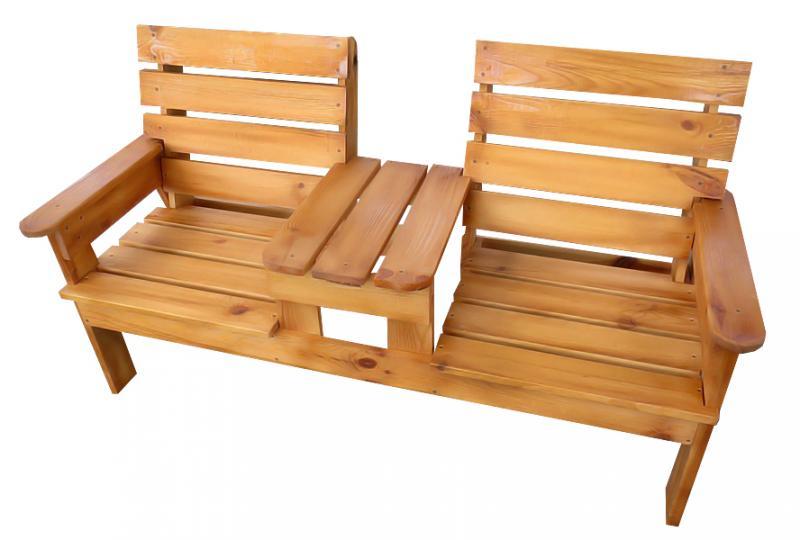 Лавка скамейка садовая с толиком