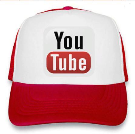 """Кепка """"YouTube"""""""