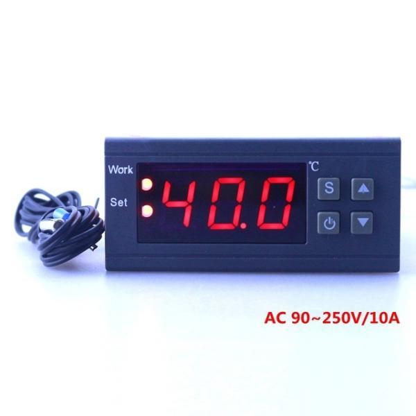 Терморегулятор MH1210W цифровой высокоточный программируемый 10A 2кВт