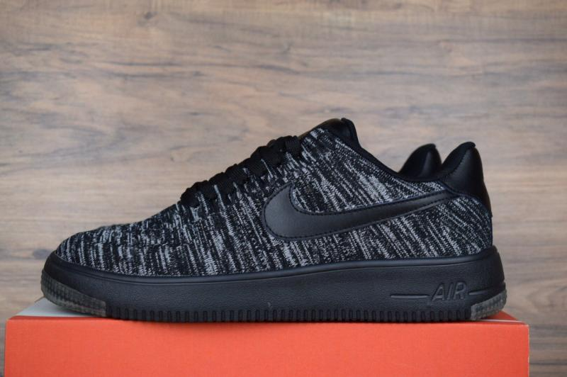 Nike Air Force 1 Flyknit Gray (41-44)