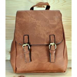 Фото Рюкзаки Арт 9027-1 Рюкзак коричневый 34х29,5х12см
