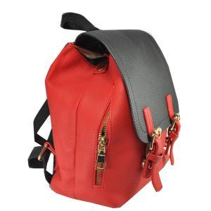 Фото Рюкзаки Арт 9028-1 Рюкзак красно-черный 23х26,5х11см