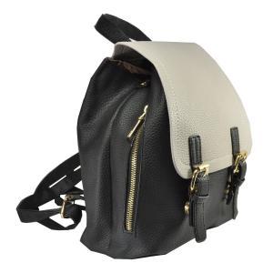 Фото Рюкзаки Арт 9028-2 Рюкзак черно-серый 23х26.5х11см