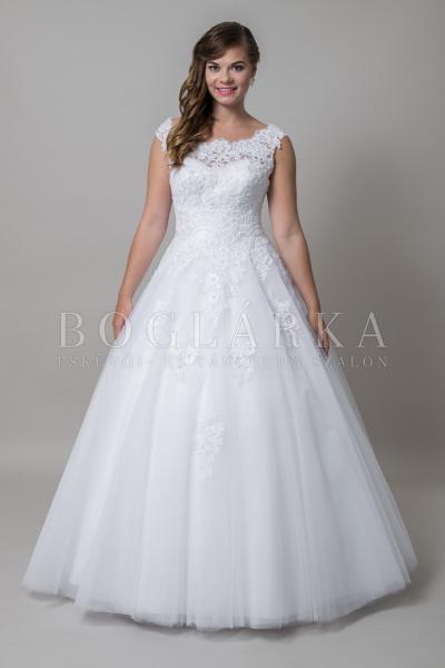 Свадебное платье для полных Биатричи