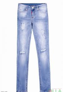 Фото Женщинам, Женская одежда, Женские джинсы Джинсы с порезами