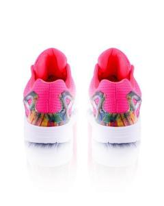 Фото Женщинам, Женская обувь, Женские кроссовки Кроссовки розовые на шнуровке
