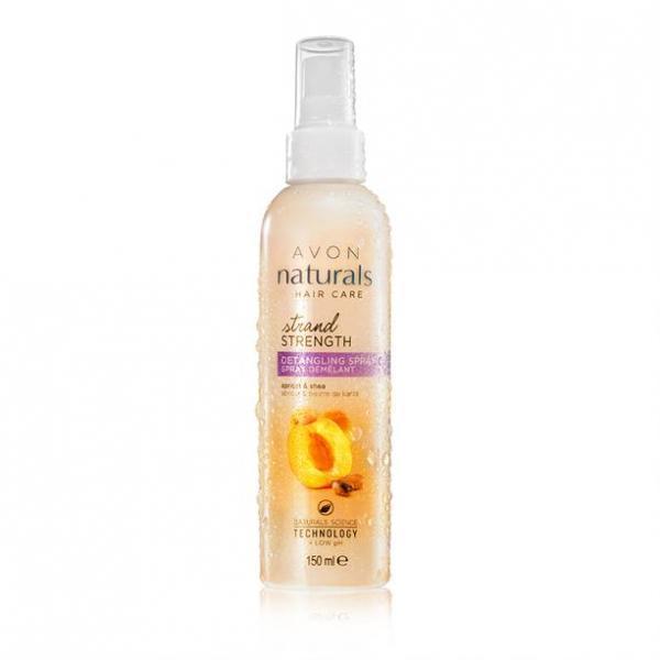 Бальзам-спрей для волос «Абсолютная сила. Абрикос и масло ши», 250 мл