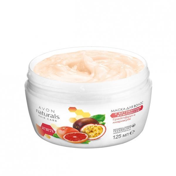 Фото для лица, naturals Маска для волос с витаминным комплексом (125 мл)
