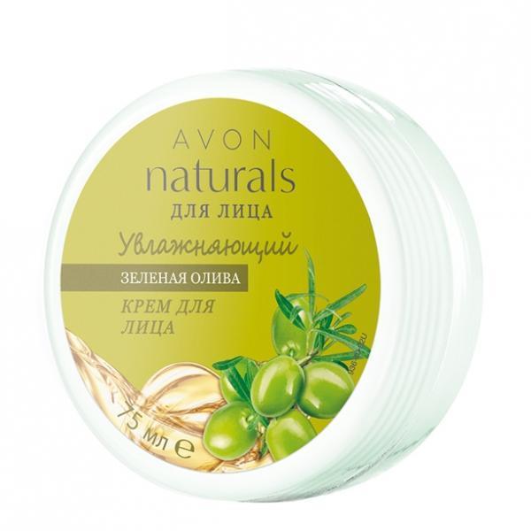 Фото для лица, naturals Увлажняющий крем для лица «Зеленая олива» (75 мл)