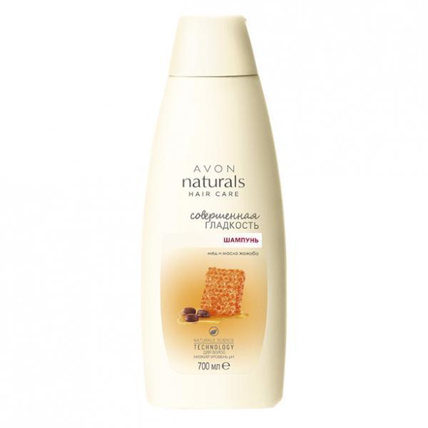 Фото для лица, naturals Шампунь для волос «Совершенная гладкость. Мед и масло жожоба», 700 мл