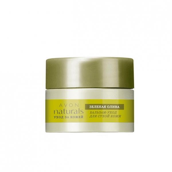 Бальзам-уход для сухой кожи «Зеленая олива»