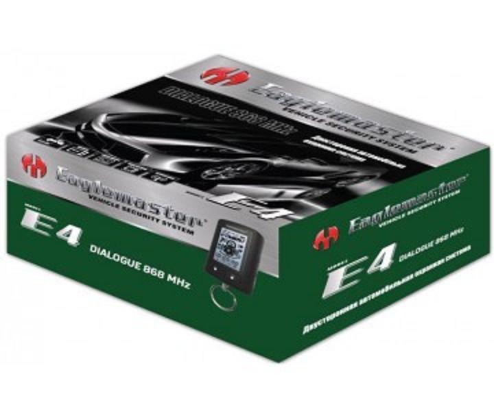 Автосигнализация E4 LCD  Eaglemaster диалоговый код
