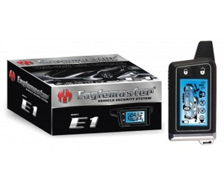 Автосигнализация двухсторонняя  E1 LCD Eaglemaster
