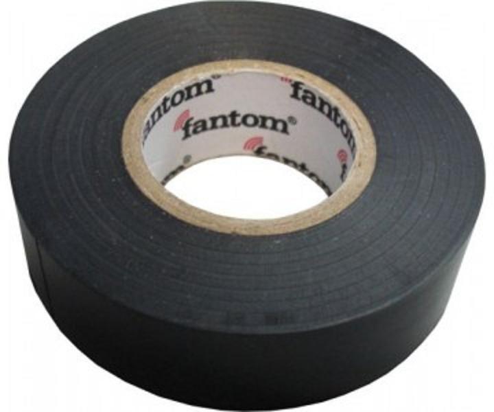 Изолента ПВХ  PVC tape FT-19 (20 m) , Т*Ш*Д:0,12мм*19мм*20м, FANTOM