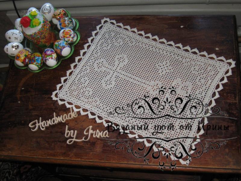 Фото Салфетки и прочие мелочи для уюта в доме Пасхальные салфетки