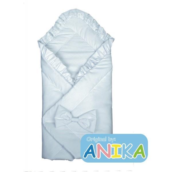 Конверт-одеяльце на выписку  с бантом  Anikababy