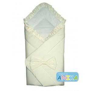 Фото Конверты для новорожденных Конверт-одеяльце на выписку  с бантом  Anikababy