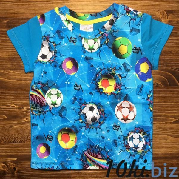 Футболка BOLL blue FB-057 Футболки детские для мальчиков в России