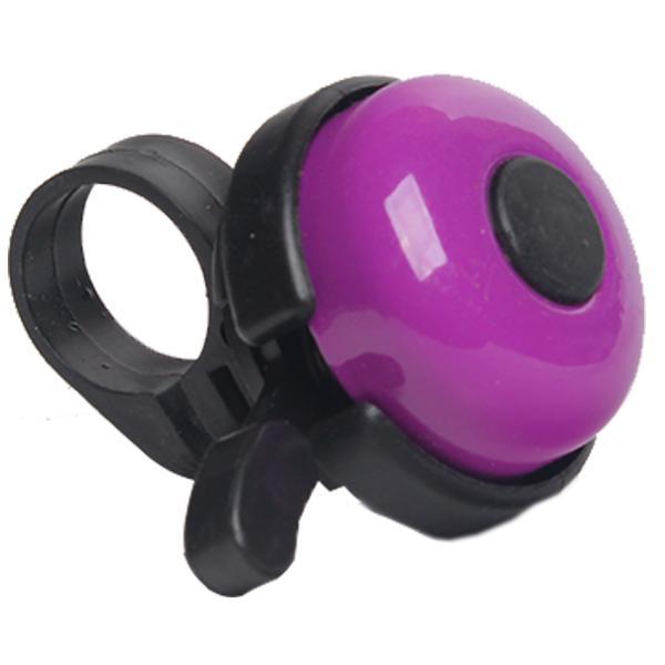 Звонок для велосипеда Bicycle Gear, фиолетового цвета