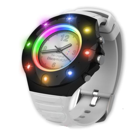 """Часы """"Диско"""" с led-подсветкой разными цветами"""