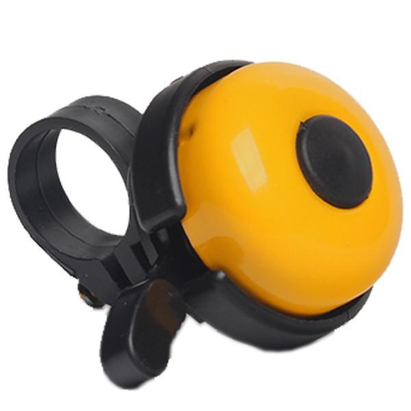 Звонок для велосипеда Bicycle Gear, желтого цвета