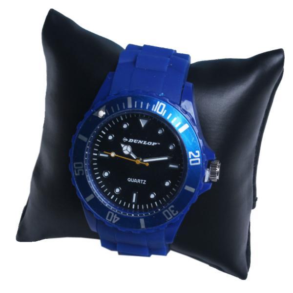 Стильные  часы Dunlop на силиконовом браслете, унисекс