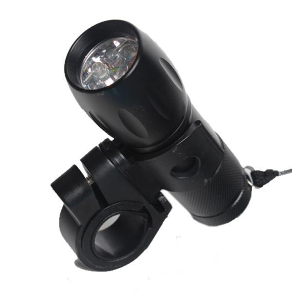 Велосипедная передняя LED - фара Dunlop, 9 светодиодов