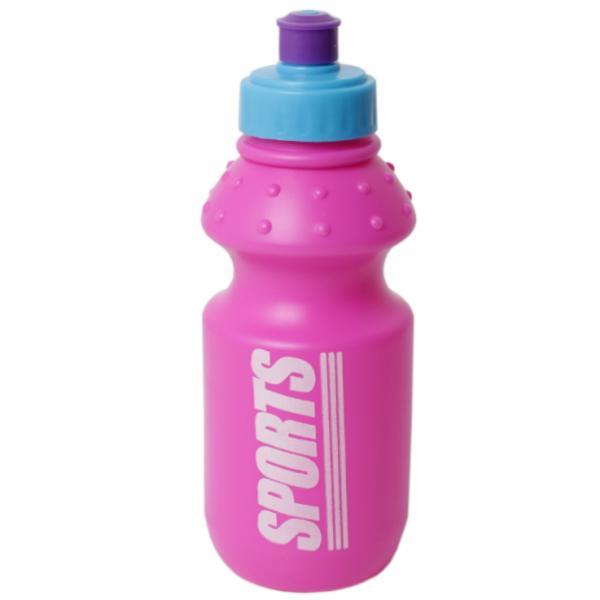 Бутылка для воды, розовая, 355 мл