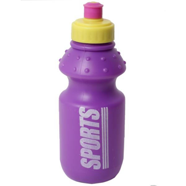 Бутылка для воды, фиолетовая, 355 мл