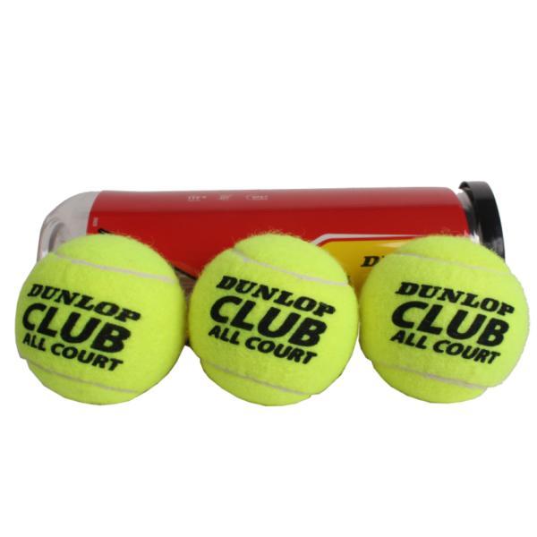 Теннисные мячи Dunlop Club All Court, 3 мяча