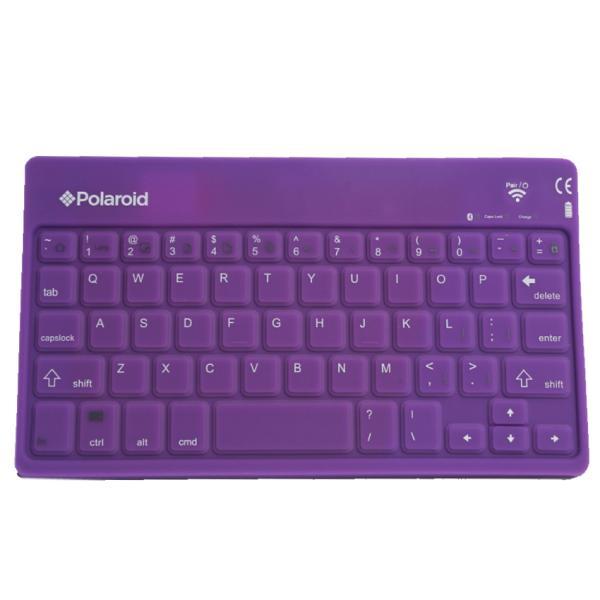 Яркая силиконовая компьютерная Bluetooth клавиатура Polaroid