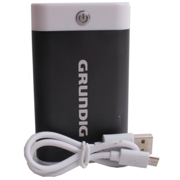 Портативное зарядное устройство Power Bank, Grundig, 6000 mAh