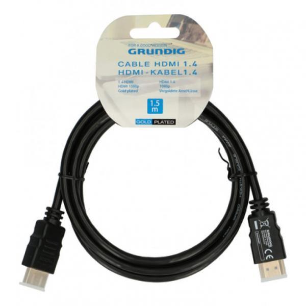 Кабель HDMI 1.4 1,5 м, Grundig
