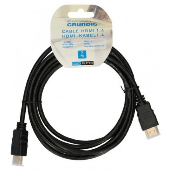 Кабель HDMI 1.4 2 м, Grundig