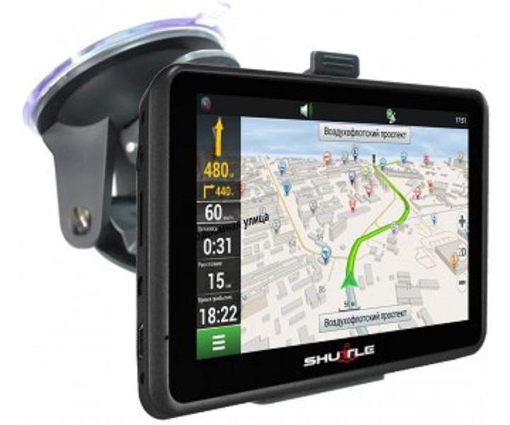 """Навигатор PNA-5010 GPS (5,0""""+FM), SHUTTLE"""