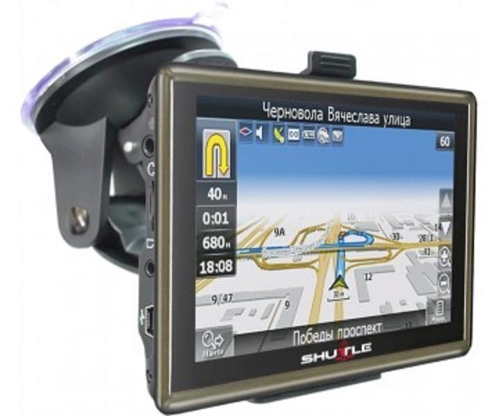 """Навигатор PNA-5018 GPS  (5,0""""+FM+AV), SHUTTLE"""