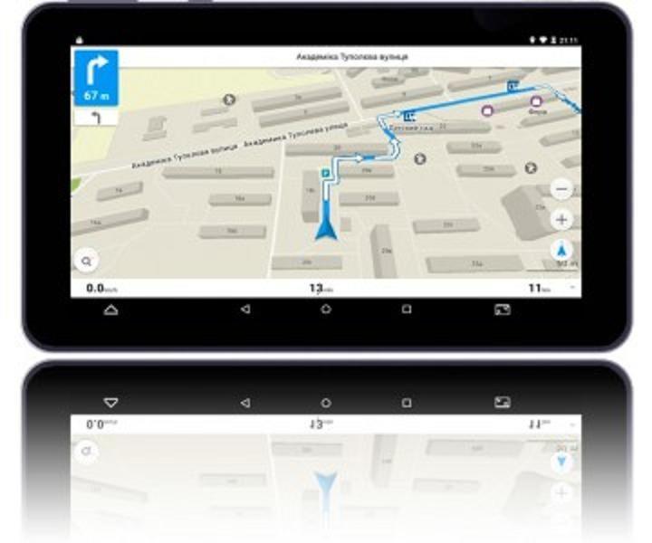 "Навигатор PNT-7042 GPS  (7,0"", ОС Андроид), SHUTTLE"
