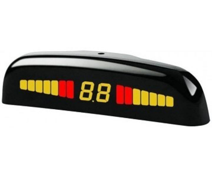 Парковочный радар (парктроник) для переднего бампера SM PTS400M1FB black , Steelmate