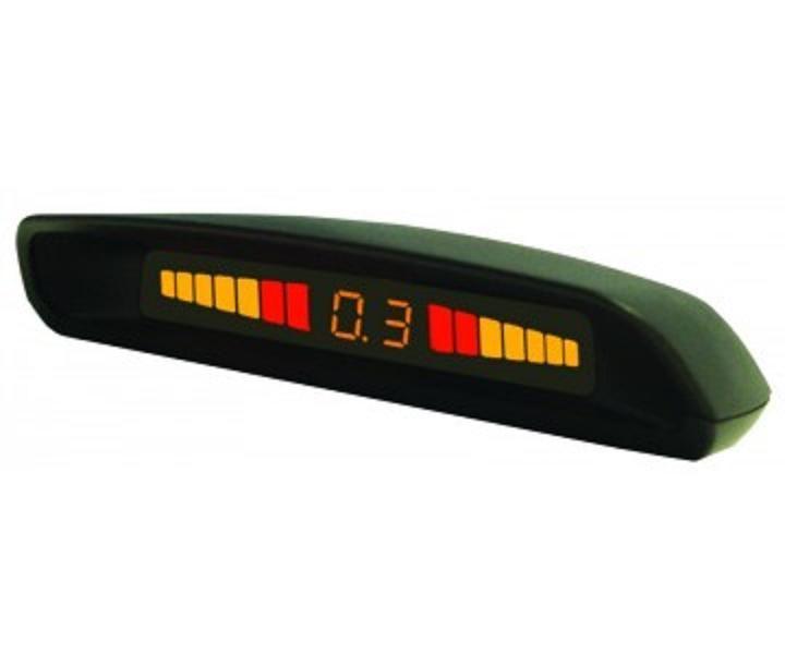 Парктроник (парковочный радар) для заднего бампера FT-411 black, Fantom