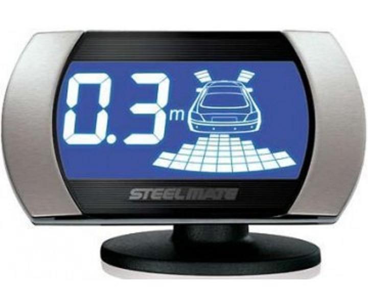 Парктроник для заднего и переднего бампера SM PTS810V2 silver , Steelmate