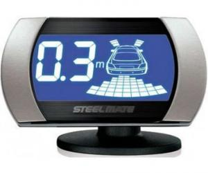 Фото Парктроники (парковочные радары), Для переднего и заднего бампера Парктроник для заднего и переднего бампера SM PTS810V2 silver , Steelmate
