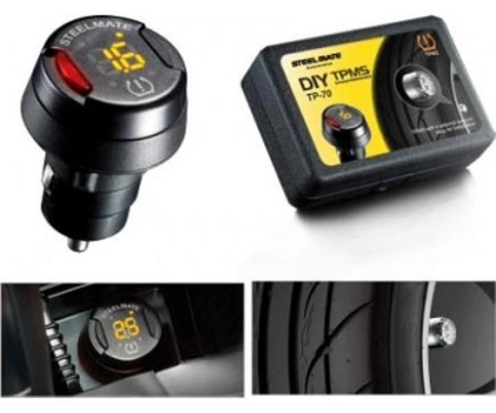 Система мониторинга давления и температуры в шинах SM DIY TP-70 , STEELMATE