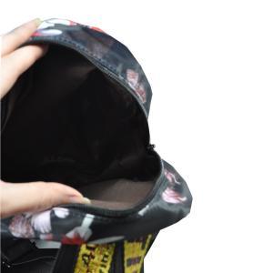 Фото Рюкзаки Арт 9033-1 Рюкзак черный 19х26,5х14,5см