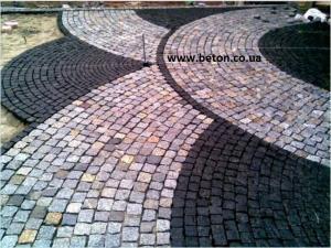 Фото  Доставка тротуарной плитки по  Днепру