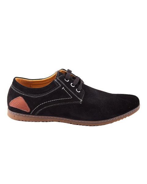 Черные туфли– оксфорды