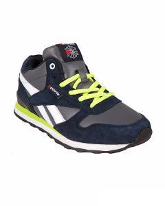 Фото Женщинам, Женская обувь, Женские кроссовки Кроссовки синие на шнуровке Reebok
