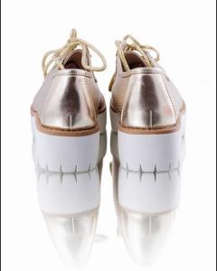 Фото Женщинам, Женская обувь, Женские туфли Туфли-криперы на тракторной подошве