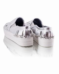 Фото Женщинам, Женская обувь, Женские слипоны Слипоны с бахромой